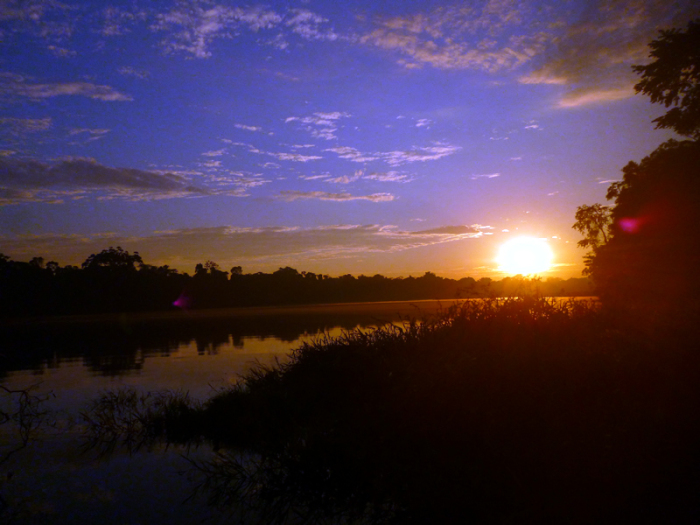 Tambopata Amazon Tour Lake Sunset